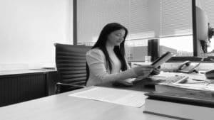 Dag van een stagiaire visie advocaten